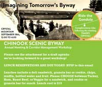 Imagining Tomorrow's Chinook Scenic Byway Workshop